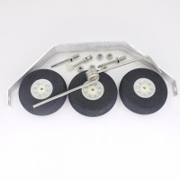 Aluminum Main Landing Gear Wheel Kit