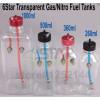 360 ML Transparent fuel tanks