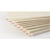 Qualtiy Balsa for RC Model aeroplane boat and ships