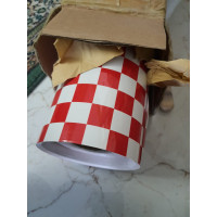 Quality Red/White Covering Film X 1 meter
