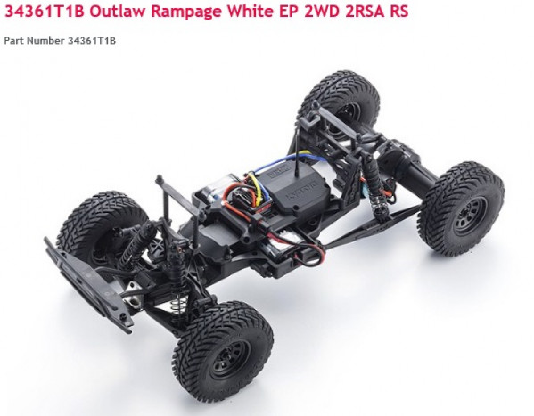 Outlaw rampage 2WD 1/10 Scale RC Car