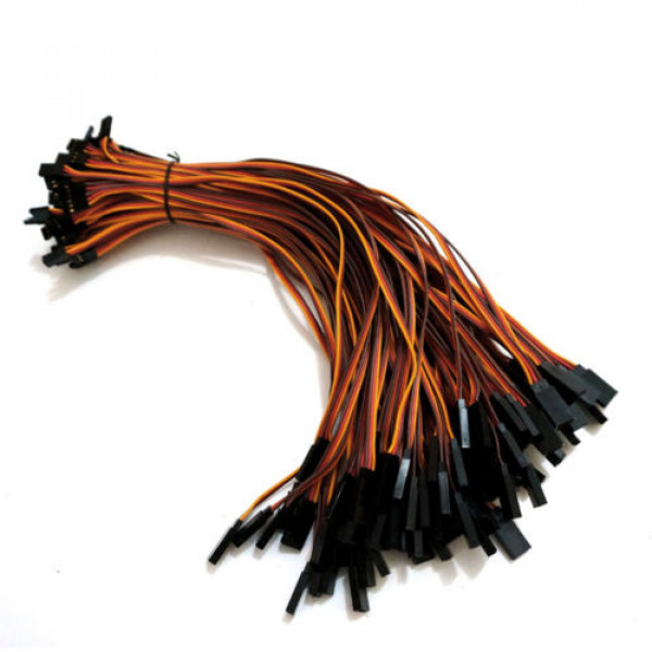 26AWG JR male to female servo extension wire cable