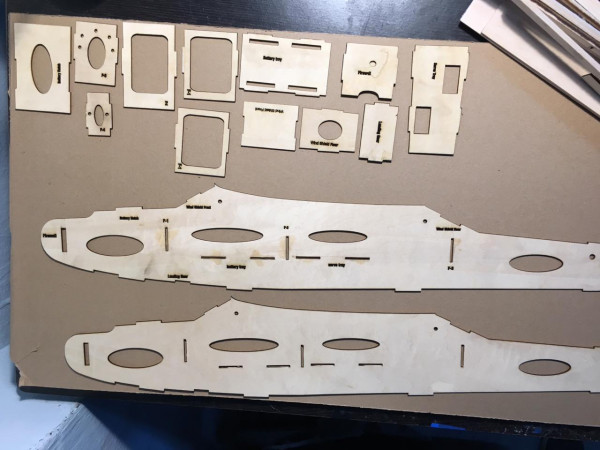 All Laser Cut parts