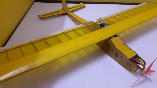 Super Trainer 1000 RC Plane Laser Cut